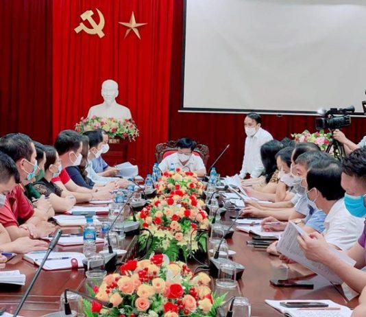Rạng sáng 14/6, Ban Chỉ đạo phòng chống dịch tỉnh Nghệ An tiến hành họp khẩn.
