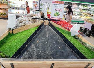 Có thời điểm cung ứng hàng hoá ở Đà Nẵng bị quá tải. Ảnh minh hoạ, nguồn VT