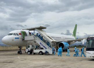 Hiện Bình Định chỉ có chủ trương đón công dân từ TP.HCM về quê bằng các chuyến bay miễn phí.